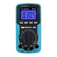 1 LUX Ses Temp Dijital Multimetre 5. Humi. Tester Ses dB Işık Dedektör All-Güneş modeli EM5510