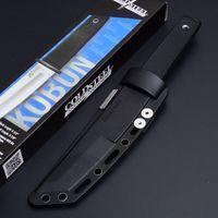 Yeni Geliş Soğuk Çelik 17T KOBUN Survival Stright bıçak Tanto Noktası Saten Blade Utility Sabit Bıçak Bıçak Av Araçları Ücretsiz nakliye