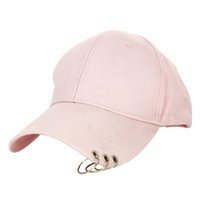 Baseball Hat with ring Outdoor Sports Sun Cap for Women Men ...