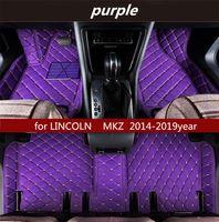 Lincoln MKS 2014-2019year Kaymaz toksik olmayan paspas araba paspası için