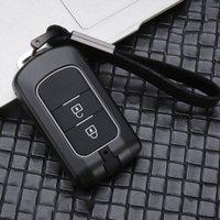 Aleación de zinc + Coche de silicona cubierta dominante alejada de la caja para Mitsubishi Lancer Outlander 10 Pajero Sport EX ASX Colt Grandis L200 YAL9 #