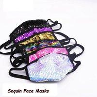 الترتر قناع الوجه الغبار قابل للغسل قابلة لإعادة الاستخدام صامد للريح الجليد الحرير قناع الوجه مطاطا حلقة الأذن تنفس ملهى ليلي 120PCS قناع CCA12349