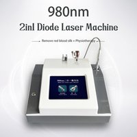 2 in 1 980nm Laser Blutgefäße Entfernung Maschine Nagelpilz Entfernen 2 in 1 Diode Laser Physiotherapie Beauty Equipment