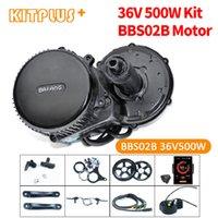 Bafang BBS02 500W 36V Moteur central Central Vélo électrique Kit de conversion à mi-disque pour vélo motorisé bricolage