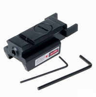 Tabanca Tüfek İçin Düşük Profil Mini Red Dot Lazer Sight 20mm Picatinny Weaver Rail