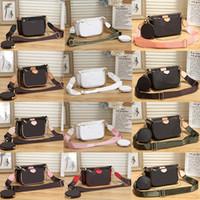 2020 جديد نوعية ممتازة نمط أزياء المرأة حقائب فاخرة سيدة PU حقائب جلدية العلامة التجارية حقائب الكتف المحفظة M حمل حقيبة أنثى