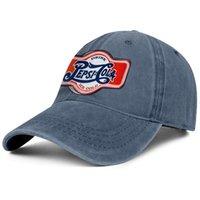 Şık Pepsi Cola İçecek Unisex Denim Beyzbol Şapkası Monte Kişiselleştirilmiş Şapkalar Mavi ve Beyaz Kılıf Diyet Buz-Soğuk Vintage Pepsi-Cola Live HD