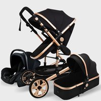 Luxurious Baby Stroller 3 in 1 Genuine Portable Baby Carriag...