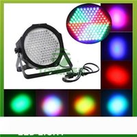 DHL 무료 배송 슈퍼 밝은 높은 전원 고품질의 127 LED DMX512 LED 램프 RGB 파 빛 LED 평면 DJ 장비 컨트롤러 (5050)