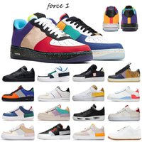 Nike air force 1 N354 Voile Gum Skate Sneakers React White Ice Cactus Jack MCA Ombre Basketball Formateurs Type de N.354 Skeleton soie Hommes Femmes Chaussures de course