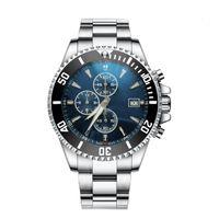 Brand New Designer F1 Swiss Watch 46mm Chronograph Quarz-Uhrwerk SS Mode-Sport-Uhren Montre De Luxe Luxury Business Herrenuhren
