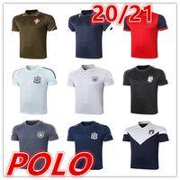 2020 2021 Новая Испания Мужские футболки Polo Футбол Джерси 20 21 Мужчины Футбол Поло Футбольная Униформа Спортивная Рубашка Поло Рубашки Футбольные Твести