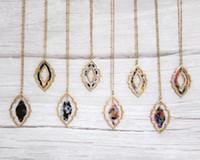 بيان السلحفاة شل الزهور المغربي أقراط قلادة قلادة طويلة للمجوهرات النساء النثار خلات الاكريليك الهندسية الطبقات أقراط