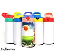 DIY Sublimation 12oz White Kid Mug Portable 350ml Blank Boun...