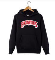 E2020 Kış Sonbahar Backwoods Hoodie Siyah Beyaz Gri Hoodi Backwoods Uzun Kollu Hip Hop Sweatshirt Boyut S-4XL