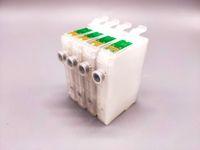 2sets / Lot 73N T0731N-T0734N Cartuccia di inchiostro riutilizzabile per Epson T10 / T20 / TX100 / TX110 / T40W / TX510FN / NX220 / CX6900F / C90 ecc stampante con ARC