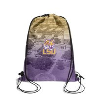 LSU Tigers football basketball Purple and Gold Fashion Cinch...