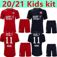 Kit Kit 2020 2021 Twente Enschede FC Inicio Menig Red Menig Jerseys 20 21 Red Menig Selahi Aburjania Hombres Niño Set Football Shirts Shorts