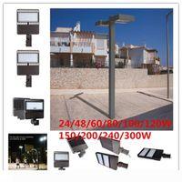 LED 가로등, 도로 램프, LED 주차장 조명 기둥 LED 옥외 사이트 및 지역 라이트, LED 신발 상자 램프 주차장 조명