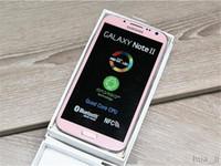 الأصلي Samsung Galaxy Note 2 تم تجديده Note2 N7100 N7105 5.5 بوصة رباعية النواة 16GB ROM مقفلة 3G 4G LTE الهاتف المحمول