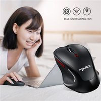 Hot Selling Wireless Bluetooth Gaming Mouse for Gamer Mac PC Computer Mice Laptop Game 2400DPI 6 Buttons Adjustable Optical