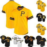 Mens Pittsburgh 8 Willie Stargell 39 Dave Parker 1971 Roberto Clemente 1982 Kent Tekulve 1982 Willie Stargell Baseball Jerseys