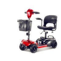 Ältere Scooter Vier-Rad-Elektro Ältere Haushalt Behinderte Fahrrad Kleines Doppel Folding Autobatterie