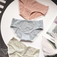 Culotte femme SPCITY SIMPLY PURE COULEUR PULLE Coton Femmes Sexy Slips Sous-vêtements menstruels sans soudure Femme Soft respirant Lingerie Thong