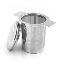 Mesh Tea Infuser Reusable Tea Strainer Teapot Stainless Steel Loose Tea Leaf Spice Filter Drinkware Kitchen Accessories