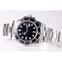 Mens Watch montres mécaniques automatiques Mouvement 2813 céramique Lunette Montres 50mètres affaires Mode étanche Sport Montre-bracelet 40mm