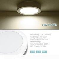 Innenleuchten Beleuchtung LED 24W runde LED-Deckenleuchte DownOffice Panel-Erröten-Einfassung Fixture Natural White