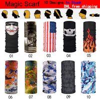 Ao ar livre ciclismo cachecol bandana lenços mágicos sunscreen faixa de cabelo esporte headwear headband multifuncional cachecol personalizado frete grátis