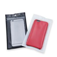 100pcs Self Seal Plastic Gift Bag With Window Reusable Retail Packaging Storage Bag Waterproof Zipper