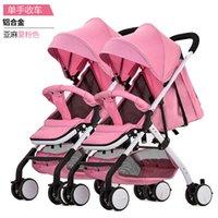 Gemelos dobles del cochecito de bebé de Mutiple cochecito de bebé gemelo passeggino gemellare carro gemelar venta desmontable
