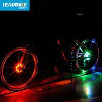 MZYRH 자전거 자전거 허브 라이트 자전거 Fronail 라이트 LED가 휠 방수 자전거 액세서리 BCL-199 경고 스포크