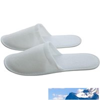 Hotel Disposable Chinelos SPA Anti-derrapante Disposable Chinelos Home Guest Shoes Multi-cores respirável com OPP Package VT0606