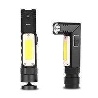Lanternas portáteis LED Work Light Bar Lâmpada de Carro Recarregável Cob Magnética Tocha Inspeção de Handheld Inspeção sem fio Ferramenta Multifuncionais