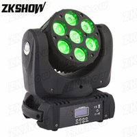 80% OFF 7*18W RGBWAUV LED Beam Wash Moving Head Light for DJ Disco Home Party Nightclub Bar Wedding Music Event Stage Lighting Effect