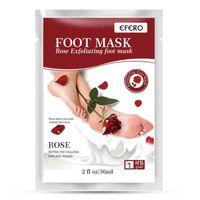 Efero Putimi Exfoliating Foot Mask Педикюр Пилинг носки Алоэ лаванды ноги маска удалить отмершие пяток кожи ног Пилинг маска 120pcs