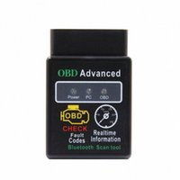 Mini ELM327 Bluetooth 2.1Interface V1.5HH OBD2 OBD 2 Auto DiagnosticTool ELM 327 Fonctionne sur Android Couple / PC V 1.5 BT Adaptateur Ys3Q #