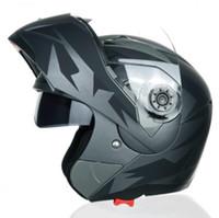 Casco da corsa da corsa da moto Jiekai Anti-fog Dual Les Casco
