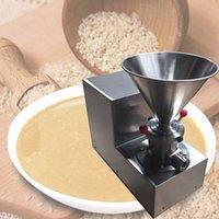 Acciaio inossidabile Peanut Butter Maker burro di mandorle macchina per la frantumazione di pomodoro Jam Colloid Mill Sesame Tahini Maker Machine