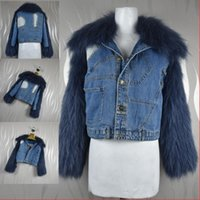 women vest winter 2020 new fashion cowboy style Real racoon dog fur knitting coat femal Down luxury clothing