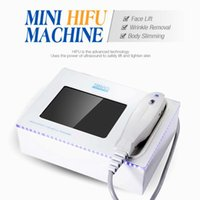 Newest Hifu High Intensity Focused Ultrasound Hifu Face Lift Machine Wrinkle Removal With 5 Heads For Face And Body