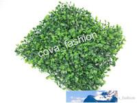 "Turf artificial Grama Mat Pet Mat Food 9,8 ""x9.8"" Falso Plastic Fish Tank Relva Relvado Micro Landscape"