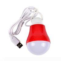 USB LED energia risparmio lampadina campeggio notte mercato stallo esterno illumina 5V potere mobile ricarica tesoro luce di emergenza