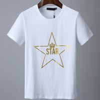 Mens Stylist-T-Shirt-beiläufige kurze Hülsen Fashion Star Printing-Qualitäts-Mann-Frauen-Hip Hop-T-Shirts