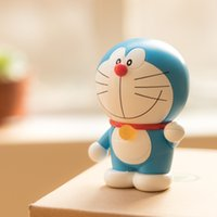 altavoz freeshipping New Rock Doraemon Mini Bluetooth robot gato muñeca portátil de regalo de la decoración reproductor de música inalámbrico de escritorio