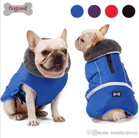 Hunde-Bekleidung Winter-wasserdichte Outdoor-Pet Dogs Jacke verdicken Warm Hundemantel für Small Medium Large Dog justierbarer Haustier Kleidung 3XL 214