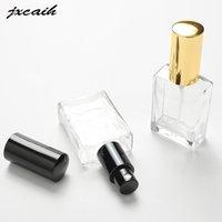 jxcaih 1PCS 30ml Yüksek Kaliteli Cam Parfüm Şişesi Atomizer Parfüm Şişesi Şeffaf Sprey Kristal Şeffaf Kare